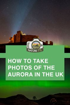 In this landscape and night sky photography tutorial learn how to photograph the Aurora Borealis (Northern Lights) in England and the rest of the UK. Find out where and what to look for to take a truly amazing night time landscape. Landscape Photography Tips, Photography Basics, Photography Tips For Beginners, Scenic Photography, Camera Photography, Underwater Photography, Night Photography, Landscape Photographers, Photography Tutorials