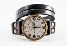 The Josephine   Vintage Leather Watch