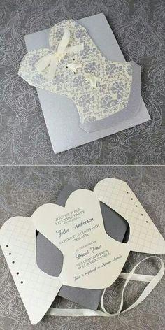 Elegant bachelorette invitation