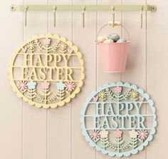 Box of 12 natural egg easter decorations gisela graham httpwww gisela graham pastel happy easter wood fretwork plaque a great range of spring easter gifts and homewares from the contemporary home online shop negle Gallery