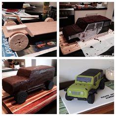 Dan's Jeep Cake -  JK, 2104 - How to....