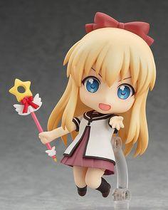 Kyoko Toshinou Manufacturer: Good Smile Company Source: YuruYuri Nachuyachumi! Series: Nendoroid Type: mobile figure Yield: April 2015 Size: approx. 10 cm. Price: 3000 yen
