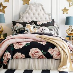 I know this is for Teens, but its my favorite! The Emily + Meritt Gold Dot Quilt + Sham
