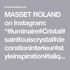 "MASSET ROLAND on Instagram: ""#luminaire#Cristal#saintlouiscrystal#decorationinterieur#styleinspiration#laliquecrystal #renelalique #laliquevas#lumieres #lampedechevet…"" Roland, Instagram, Crystal, Bed Reading Light"
