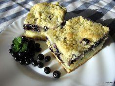 Rychlý borůvkový koláč s drobenkou
