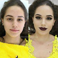 Maquiagem feita em curso PROFISSIONAL ❤️ || INFORMAÇÕES DE CURSOS POR E-MAIL: leticiadepaulamakeup@gmail.com SEGUE NO INSTA: @laria_paula
