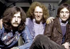 "On July 16, 1966, (lt-rt) Eric Clapton, Ginger Baker and Jack Bruce formed Cream. The three piece group only lasted 2 years, leaving behind some classic recordings including ""Sunshine of Your Love,"" ""Badge,' ""Strange Brew,"" and ""White Room."""
