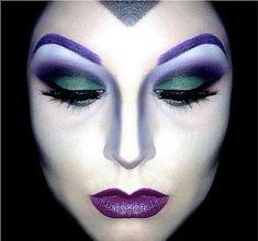 Imagen De bruja del artículo Fotos de Maquillaje de Halloween fácil para mujer 2017   Paso a paso
