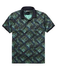 Printed Polo Shirt | Polo's | Men Clothing at Scotch & Soda