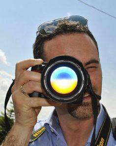 non è un effetto di photoshop, è un riflesso reale, foto dell'amica @luxibelli fatta  a #barbera2