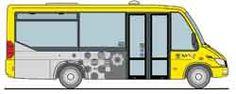 Citybus Eppan – Busdienst Südtirol - Unterkünfte, Urlaub, Hotel, Ferienwohnung, Südtirol Citybus - new  Design in Gelb
