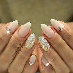 100 Top best almond wedding nail ideas design that's perfect for your big day
