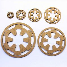 Star Wars Imperial Symbol Craft Shapes, Embellishments. 2mm MDF Wood in Crafts, Woodworking | eBay