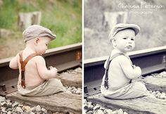 Baby Boy 6 month pictures - I'm Topsy Turvy
