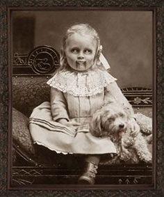 Little vamp girl
