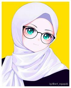 Baby Images Hd, Islamic Cartoon, Hijab Cartoon, Happy Birthday Candles, Anime Poses, Doodle Art, Muslim, Doodles, Princess Zelda