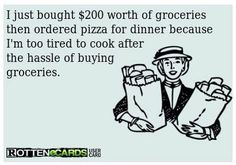 every time I go grocery shopping..