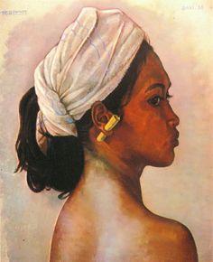 Rudolf Bonnet - Portret Gadis Bali