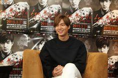 Lee Min Ho - LIVE in Hong Kong Press Conference - 21.03.2015 Media Interview