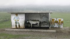 A photographer has snapped photos portraying the world's most peculiar bus stops located in the former Soviet Union. Christopher Herwig traveled more than 30,000km by bike, bus, and other means of transportation to take photos of the former Soviet Union's bus stops and capture the strange beauty of such sites, The Guardian reported.