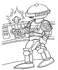 Power Rangers Overdrive Coloring Pages