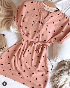 Best Women Outfit in 2019 Cute Summer Outfits, Cute Casual Outfits, Stylish Outfits, Casual Dresses, Fashion Dresses, Casual Summer, Teenage Outfits, Kpop Outfits, Girl Outfits