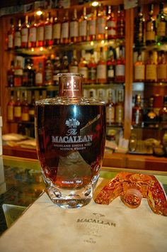NUMBER 10 MOST EXPENSIVE IN WORLD IS: Macallan 55 Year old Lalique Crystal - Most Expensive Whiskeys in the World $12,500.00 -ShazB