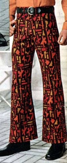 Oh my gawd! I had these very pants in the 4th grade! I was a Fashion Plate! :)