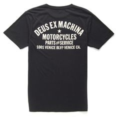 Deus Ex Machina Venice California Mens T-Shirt