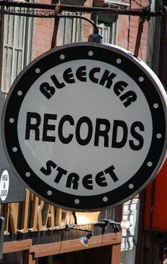 I love Bleecker Street in NYC!