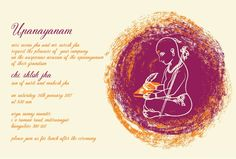 Thread Ceremony Invitations Circle Of Wisdom Violet