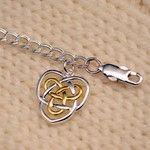 Celtic Sisters Knot Bracelet