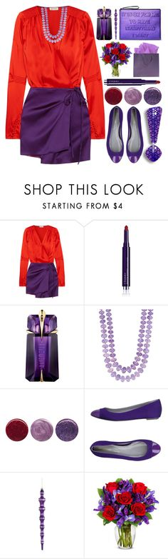 """""""Office Party"""" by grozdana-v ❤ liked on Polyvore featuring Attico, By Terry, Victor Velyan, Deborah Lippmann and Sergio Rossi"""