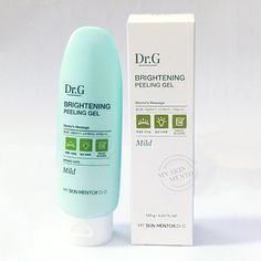 Dr. G Brightening Peeling Gel is actually skin care wizardry that removes oodles of gunk and dead skin and leaves your skin glowing like a cherub's.