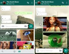 Now Whats App allows Users to Search GIF