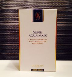 Hydrating mask...good for those cold days ahead.