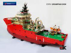 ERRV Grampian Don #LEGO #MOC #boat