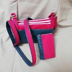 ploqi pic sur Instagram: 🎄🎄Née ce matin encore tout chaud 🎄🎄 Ploqi-pic vous présente le sac à main 3 compartiment et son portefeuille assorti. Retrouvez le dans…