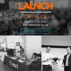 Find @EsriStartups 15k attendees 4 stages 250 speakers at the biggest #startup conference in the world #LAUNCHFestival launchfestival.com  The #LAUNCH Festival & #Esri are focused on helping founders build scale & fund outstanding companies. Esri enables #startups to develop the next gen of #mapping & #location based #apps via the Esri Startup Program esri.com/startups. Find us in the expo and learn more about our global free three year #StartupProgram. @launch_festival  @esrigram…