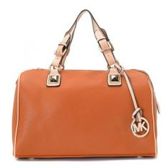 Michael Kors Grayson Large Satchel Orange