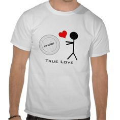 Ultimate Frisbee True Love Tee Shirts by #mcquackers2 on #Zazzle #sports
