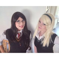 Pin for Later: 31 Insanely Ingenious DIY Costumes For BFFs Harry Potter and Draco Malfoy