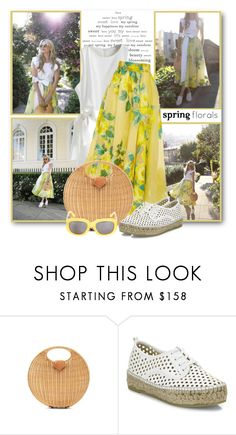"""""""Spring Florals"""" by brendariley-1 ❤ liked on Polyvore featuring Lela Rose, Loeffler Randall, Surface To Air, floral and springfashion"""