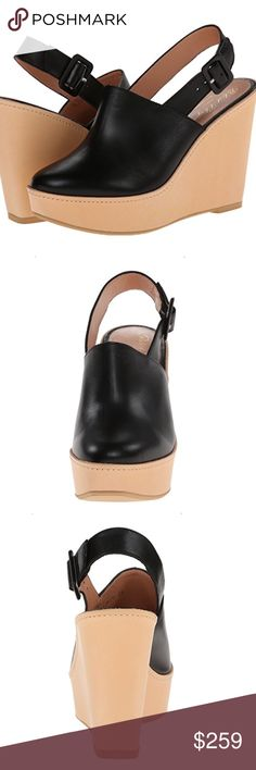 Shoes Robert Clergerie Women's French Platform Sandal, Black Robert Clergerie Shoes