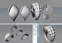 Algorithmic Accessories V1.0 designs by Magdalena llieva  Taught by Eva Tucek…