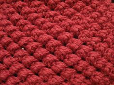 Raspberry Crochet Stitch - Meladora's Free Crochet Patterns & Tutorials