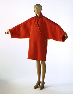 James Galanos b1924 American. Coat 1990 The Los Angeles County Museum of Art