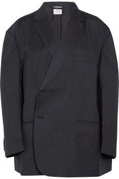 Vetements - Brioni Oversized Wool Blazer - Navy -