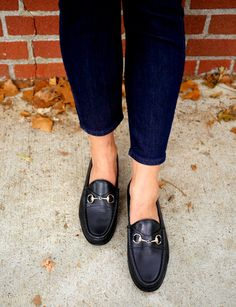 Loafers are always a good idea for fall