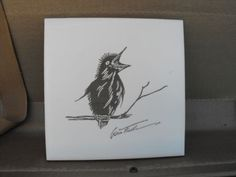 gwen frostic | Gwen Frostic Collectible Bird Tile by YBINUCAROL on Etsy